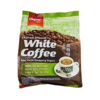 SUPER Charcoal Roasted White Coffee 3 in 1 HAZELNUT 540 Gr