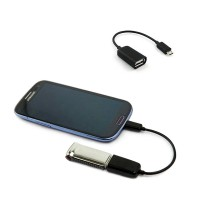 Mobile Phone OTG Connect Kit - Kabel Micro USB to USB Female untuk Android - Premium Quality