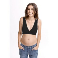 Fertile Mind Super Sleep Bra - Black - S