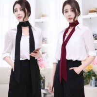 HO5042W - Fashion Thin Skinny Scarves