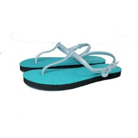 Sandal Casual / Sandal Sun Swallow Strappy Travel in Turquoise Grey