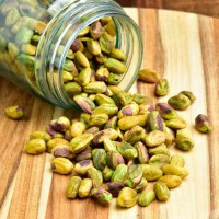 Rooasted Pistachio 1Kg Shelled Pistachios Tanpa Cangkang 1000 Gram-Natural
