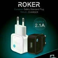 Charger Roker 2.1A + Kabel Micro USB