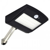 HBT-1806 - 900 Lumens Rotatable Motion Sensor 48 LED Solar Lamp Light Black