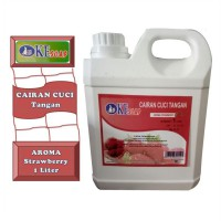 Okesoap Handsoap Strawberry sabun cuci tangan