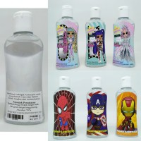 Hand Sanitizer Cairan Kids Liquid  Antiseptic Alkohol 70% Isi 60 ml