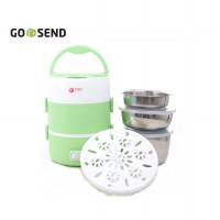 Tori TLB-111 Lunch Box rice Cooker - Hijau