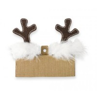 Mudpie Reindeer Antler Hair Clips Set #1512099