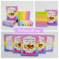 Fruitamin Soap 10in1 by Wink White Original / Sabun Pemutih