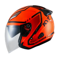 Helm KYT Galaxy Slide 1 Orange