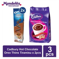 Cadbury Hot Chocolate + Oreo Thins Tiramisu x 2pcs