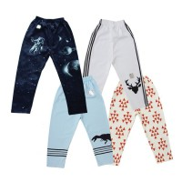 Isi 4 | Size NB & S - Kazel Jobel Baby Boy Long Pants Galaxy Edition Celana Panjang Anak