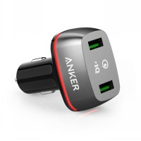 Car Charger Anker PowerDrive+ 2 QC 2.0 A2221 Black