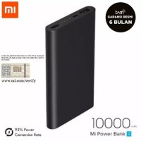 Xiaomi Mi Power Bank Garansi Tam