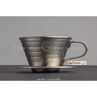 Tiamo Wave 185 Dripper Stainless Steel