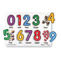 WOODEN PUZZLE NUMBER & ALPHABETS - PUZZLE KAYU ANGKA & ABJAD