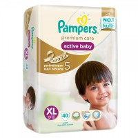 Pampers Premium Care Taped XL 40