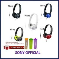 Obral SONY MDR-ZX310 Sound Monitoring Headphone Headset Sony MDR ZX310AP - Blue