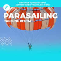 Parasailing voucher di Tanjung Benoa (Discount up to 75%) -  watersport