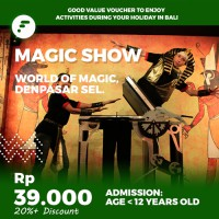 World of Magic Kids Admission E-voucher - Fitaccess Bali