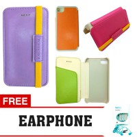 Flip Cover iPhone 4 / 4S Kalaideng Leather Case My Love Series FREE EARPHONE