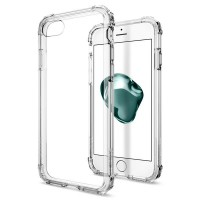 Spigen Iphone 7 Case Crystal Shell Clear Crystal - Transparan