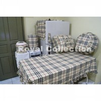 harga KITCHENSET / SET TAPLAK MEJA MAKAN Burberry Kotak elevenia.co.id