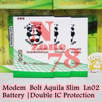 Baterai Modem Bolt Aquila Slim Ultra LTE Ln02 BL1 Double IC Protection