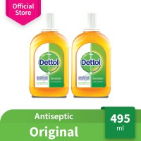 Dettol Antiseptic Liquid 495 ml - 2 pcs