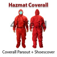 Hazmat Coverall With Cover Shoes