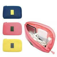 korean gadget wallet / tempat kabel HP / dompet shockproof / travel organizer / gadget pouch