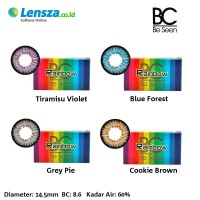 [Luxury Softlens] Omega Rainbow Softlens Warna