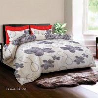 King Rabbit Seprei & Sarung Bantal Extra King Size 200x200 cm – Fabulous Collection 2017