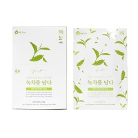 EPONA JEJU GREENTEA INTENSIVE WHITENING FACE MASK 1 SHEET