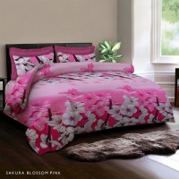 King Rabbit Bed Cover & Seprei Set Sarung Bantal Queen Size 160x200 cm – Fabulous Collection 2017