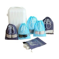 Drawstring Shoes Pouch / Tas sandal sepatu serut / Travel Shoes Bag Organizer