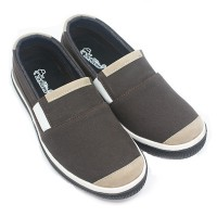 Dr.Kevin Man Slip On 13323 - 2 Colors [ Brown/Cream,Black/Grey ]