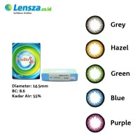 [Luxury Softlens] Omega Vanilla Sky Softlens Warna