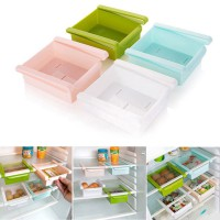 Storage Box Slidding Rak - Rak Meja Kotak Cantol Multifungsi Rak Cantol Serbaguna Freezer Slidding