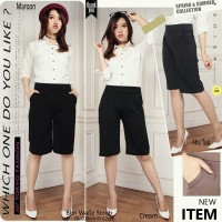 CJ collection Celana kulot pendek wanita jumbo short pant Dzafina