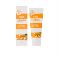 QYO QYO TANGERINE BRIGHT AND MOIST FOAM CLEANSER 100ML