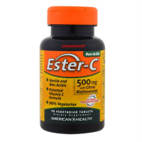 American Health Ester-C with bioflavanoids 500 mg 90 Ta