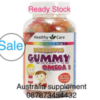 omega 3 gummy healthy care omega 3 anak