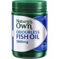 Natures Own Fish Oil Odourless 1000mg 200 capsules Made