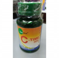 Vitamin C Time Release 500MG + Calcium Synplus C Time 5