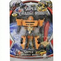 Mainan Robot Super Change Transformers - bumbble bee