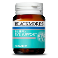 Blackmores Bilberry Eye Support Advanced 30 Tabs Exp Sept 2020