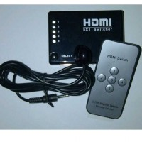 [GAINTECH] HDMI v1.4b Switch 5-in to 1-out with Remote (Passive)