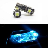 Lampu LED Mobil / Motor / Senja / Wedge Side - T10 Canbus 5 SMD 5050 - Blue