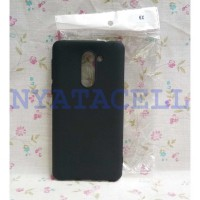 Case Matte Huawei Honor 6X Soft Black Anti Minyak Softcase/SoftShell